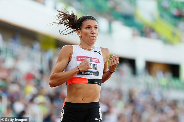Richardson is set to be replaced on Team USA by Jenna Prandini, who finished fourth in the 100 meter sprint that Richardson had won