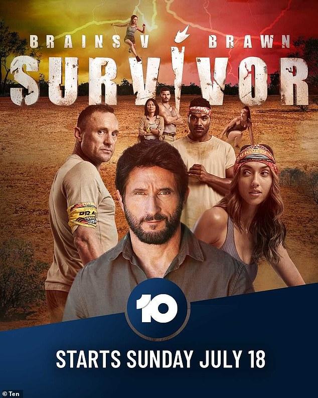 Almost here: Australian Survivor: Brains v Brawn premieres Sunday, July 18, at 7:30pm