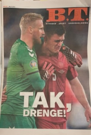 B.T. front page