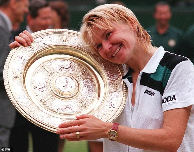 Pliskova will now face Jana Novotna (1998) (above) and Petra Kvitova (2011 and 2014) as the third Wimbledon Ladies' Singles champion from the Czech Republic