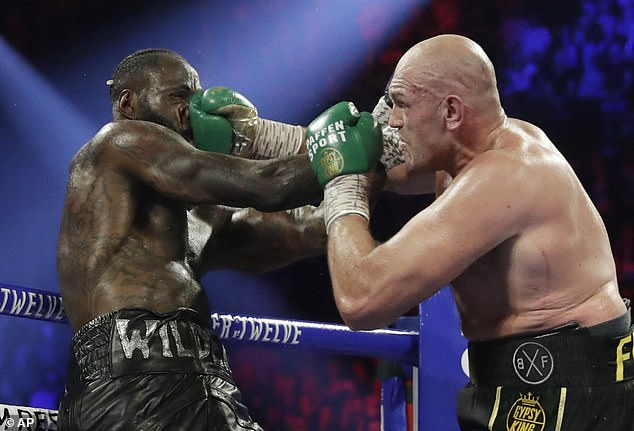 Fury battered Wilder from pillar to post when they last met in Las Vegas in February 2020