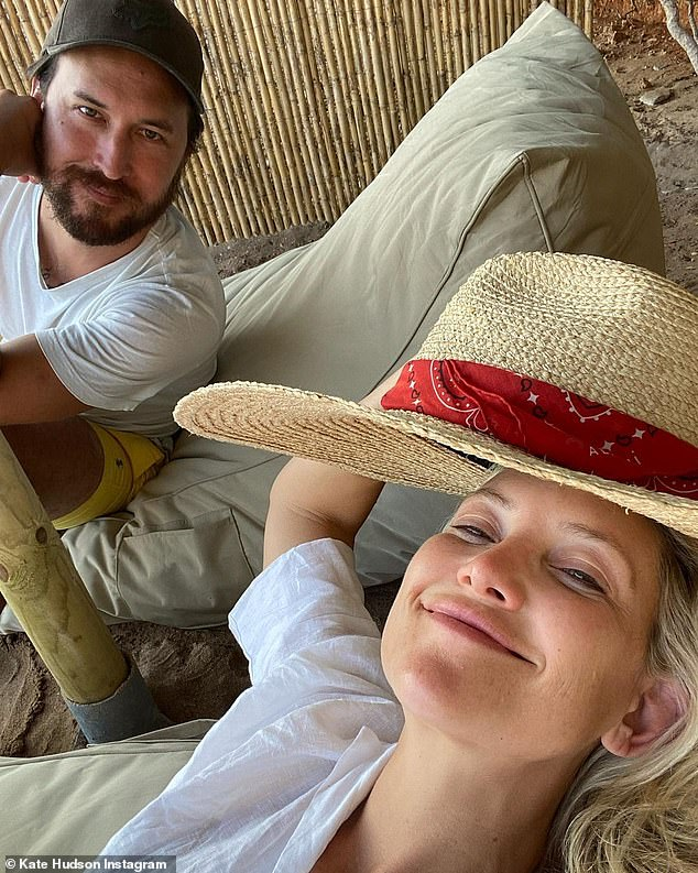 Beach buddies: The pair have recently been spending time with their family in Greece , where the Academy Award-nominated performer is currently working on the upcoming follow-up to the mystery film Knives Out