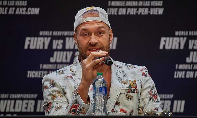 Tyson Fury 'tests positive for COVID-19' as Las Vegas fight against Deontay  Wilder is postponed