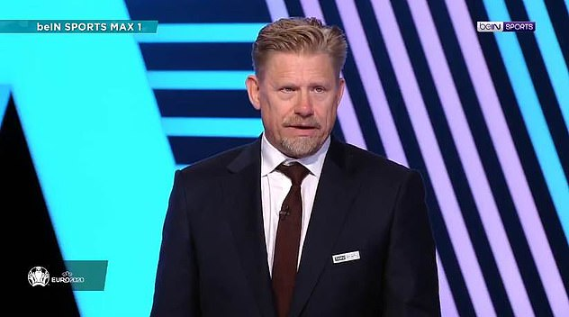 Peter Schmeichel claimed the referee's 'big mistake' cost Denmark a place in Euro 2020 final