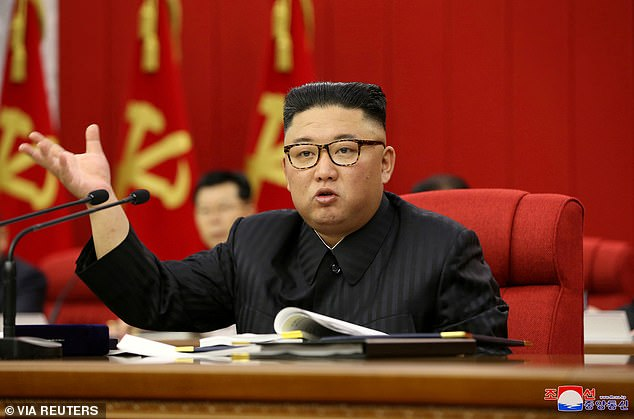 North Korean leader Kim Jong-un (pictured) extended an invitation to the Pope to visit North Korea in 2018, when Kim Jong-un arrived for a meeting with a US Secretary of State