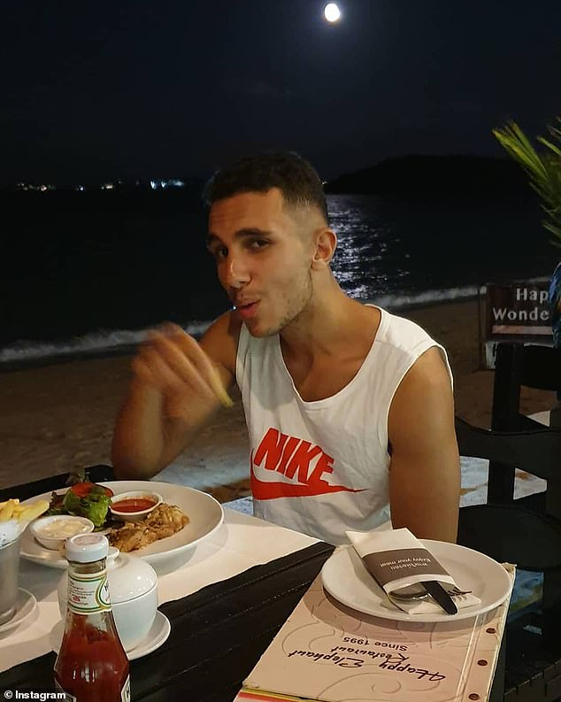Meticulous: Majid flew to Majorca from the UK for the break in and claims he spent a week planning the intrusion - he was caught be security during a failed first attempt to get access