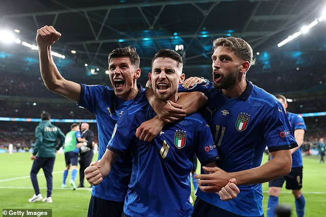 Only Italy stands between England and a first major international tournament victory in 55 years - since the 1966 World Cup