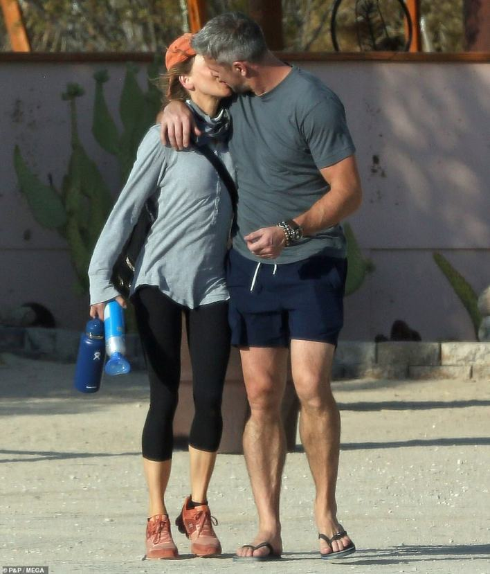 Meet cute: The two originally got to know each other while filming the new series Celebrity IOU Joyride, and a source told Us Weekly on Thursday that the couple are 'happy' to have met under such fortuitous circumstances