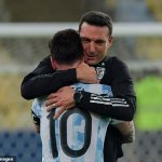 Messi fought through the pain barrier to help Argentina to Copa America glory, claims boss Scaloni 💥👩💥