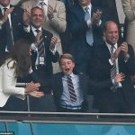 Euro 2020: Prince George, Prince William and Kate Middleton watch England vs Italy 💥👩💥