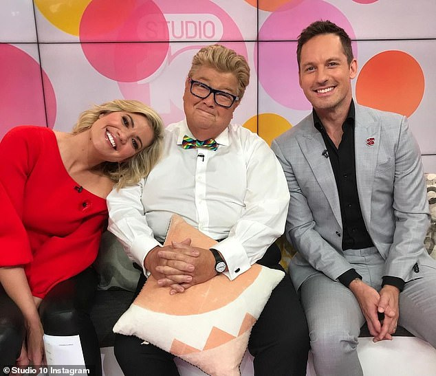 Adorable: While originally hired to host the show's infomercials, Jono ended up becoming a full member of the Studio 10 team and was well known for his on-air pranks.