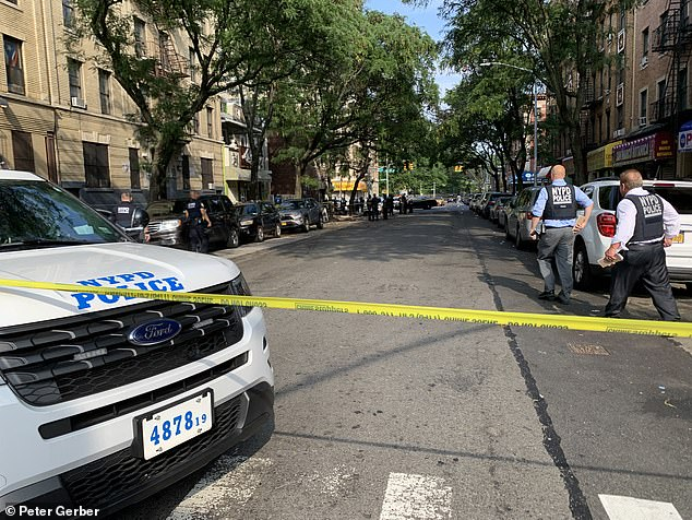 The gunman approached Jaryan in a black vehicle, stepped out and began firing, hitting him once in the chest and once in the leg, police said