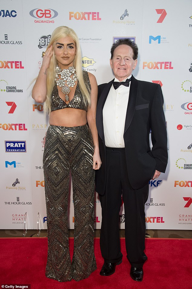 Still wed:Gabi has recently claimed that she and Edelsten were still married at the time of his death.The Allied Medical Group founder was found dead at the age of 78 by a cleaner at his Melbourne apartment on Friday, June 11