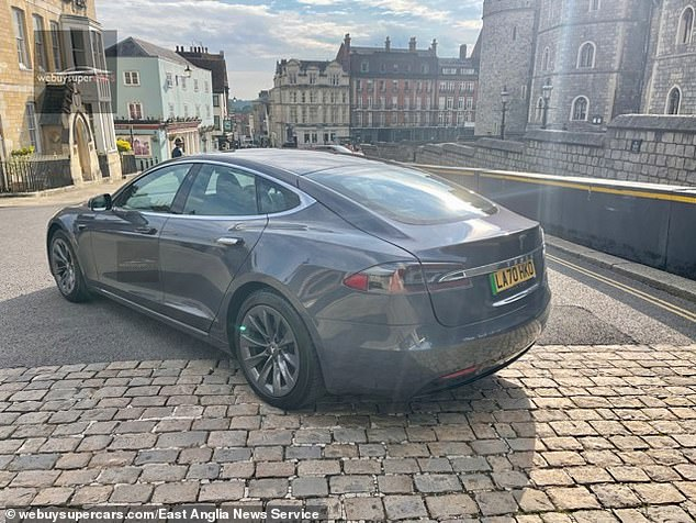 The car which has a range of 405 miles, and can accelerate from 0-60mph in just 3.1 seconds was recently bought by webuysupercars.com