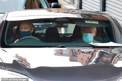 Charles who has long been known for his green views was seen being chauffeured around several times