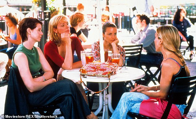 Smash success:Running from 1998 to 2004, Sex And The City was an immensely popular series focusing on the love and sex lives of four 30-something New York City women