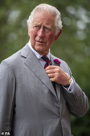 Charles was first spotted in the Tesla Model S in February this year when he was visiting his father Prince Philip at the King Edward VII Hospital in London