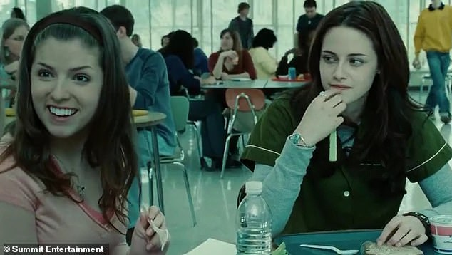 Monster hit: The actress first garnered worldwide recognition for her role as Jessica Stanley in the Twilight film franchise, which began the first of five movies in 2008
