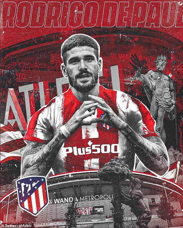 Saul dropped down the pecking order last term and Atleti have now signed Rodrigo De Paul