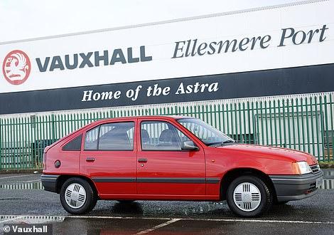 The Vauxhall Astra Mk2