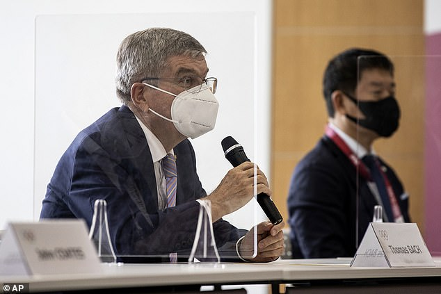 International Olympic Committee president Thomas Bach accidentally called Japanese people 'Chinese' while attempting to win over the reluctant hosts of the Tokyo 2020 Games in the latest blow for the sporting event