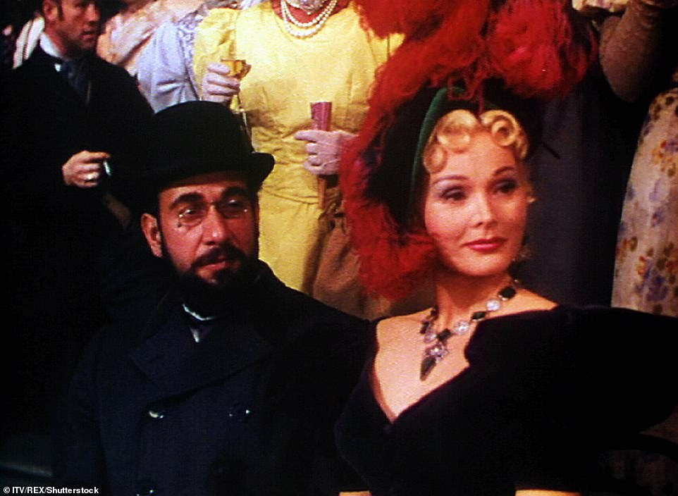 After a string of television work and odd parts in movies, her big break came with a starring role in Moulin Rouge in 1952 opposite Jose Ferrer, and Lili in 1953 (pictured)