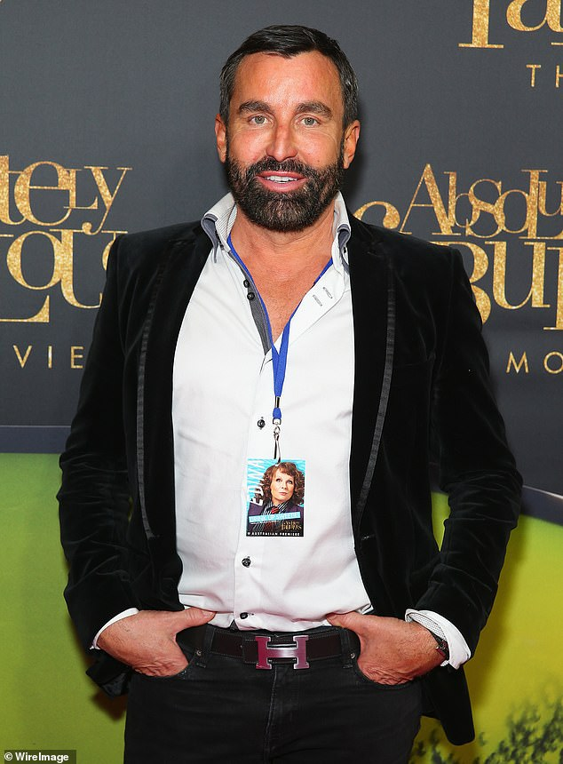 On top of the nine cases, a further five infections were linked to Joh Bailey's (pictured) salon, which boasts celebrities clients including the likes of Olivia Newton-John, Kylie Minogue, and Elle Macpherson