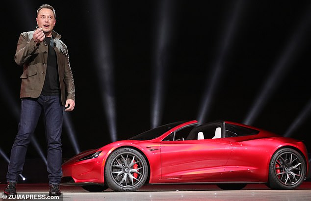 Grilling: Tesla founder Elon Musk (pictured) said he dislikes being in charge of the electric car maker but added the company could not run without him