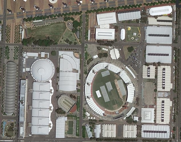 Unlikely location: The show is set to begin filming at Sydney Olympic Park (pictured) at a new Big Brother house in the coming weeks