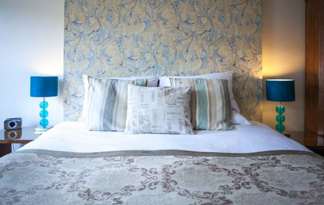 There are six individually decorated rooms named after local cheeses. They all come with underfloor heating