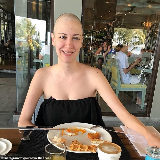 Doctors first diagnosed the cancer as an adenocarcinoma tumour but was later determined to be a neuroendocrine tumour – an aggressive type of growth