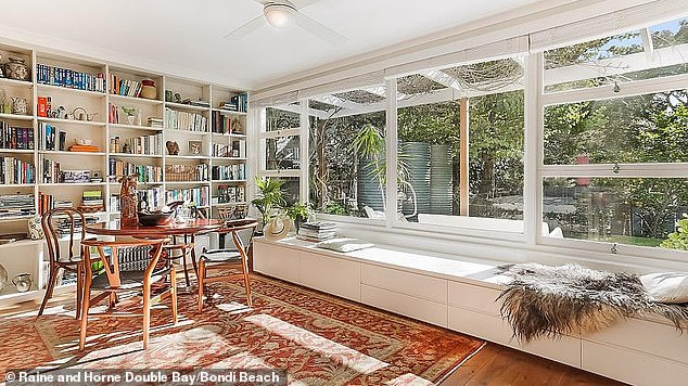 Family Home: O'Keefe previously lived in the two-story family home with his ex-wife Eleanor and their three children Barnaby, Rory and Olivia