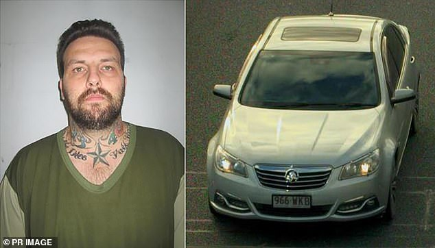 Ms Beilby's killer Zlatko Sikorsky (left) was murdered in jail by another inmate in November, 2020. Police released an image of his vehicle (right) in an effort to locate him for questioning in June, 2018.