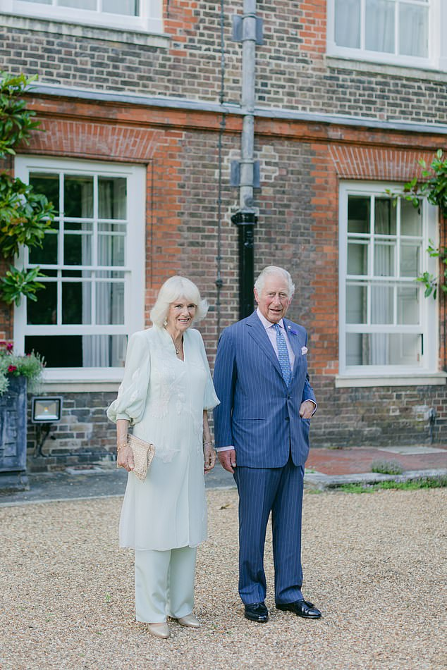 The Prince of Wales and The Duchess of Cornwall hosted 'A Starry Night in the Nilgiri Hills', the finale event for Elephant Family's 'CoExistence' campaign