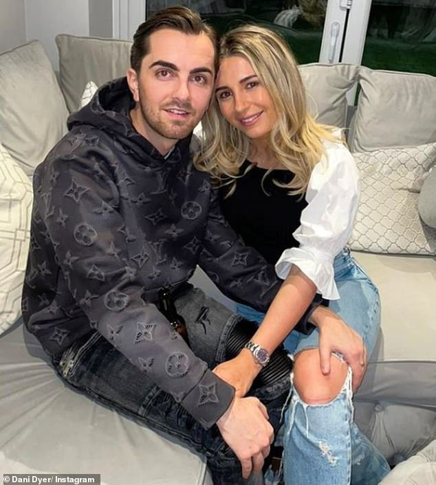 'She expected him to be let off': Dani has broken up with Sammy after he lied to her about his crimes before being sentenced to three years in jail on Wednesday (Dani and Sammy are pictured together in March)