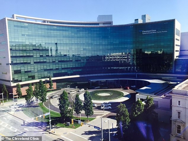 The Cleveland Clinic (pictured) and Mount Sinai will not administer the newly approved Alzheimer's drug, Aduhelm, after its controversial FDA approval