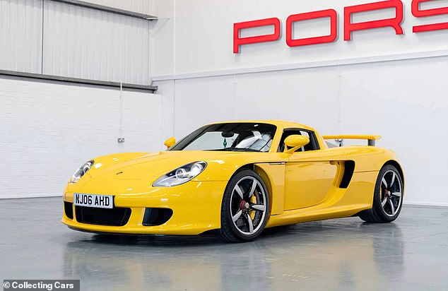 With just over 4,000 miles on the clock, this stunning yellow Porsche supercar was rightfully in high demand