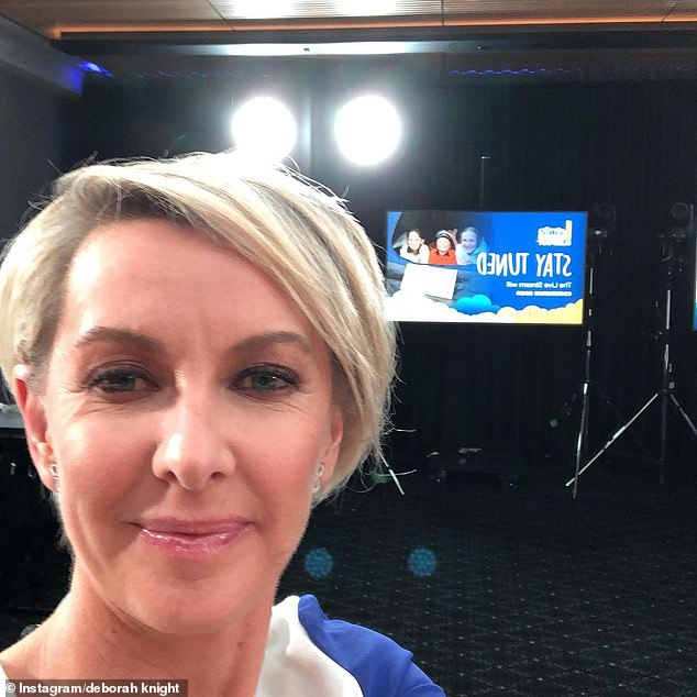 'Would you be up for it?': Deborah begins to ask Nikki if the public would see a reprisal of the singer at the 2032 Brisbane Olympics after her rise to fame at the 2000 Sydney Olympics
