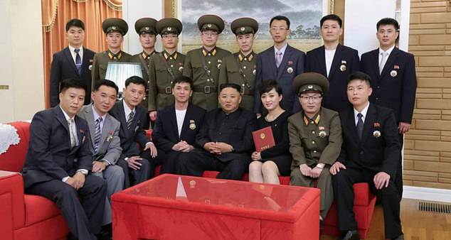 King Jong Un has previously met with the band and other musicians at the palace