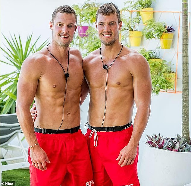 Flashback: The Sydney-based brothers shot to fame on Love Island Australia's second season back in late 2019