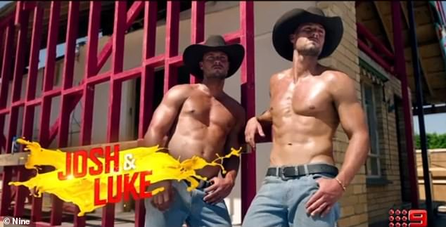 Hot stuff! The hunky twin brothers, 27, flaunt their ripped torsos in a steamy new promo for the upcoming season