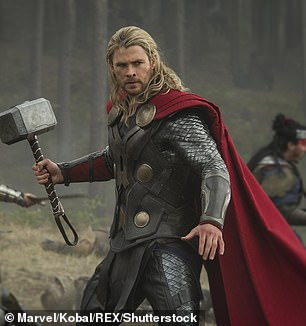 Pictured: Chris Hemsworth in Thor