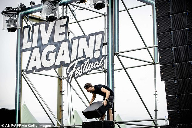 Holland has seen a spike in cases in recent weeks, forcing the government to reimpose some restrictions, including cancelling festivals such as Live Again!