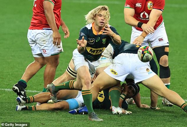 Gatland claimed that South Africa 'A' scrum-half Faf de Klerk should've been sent off