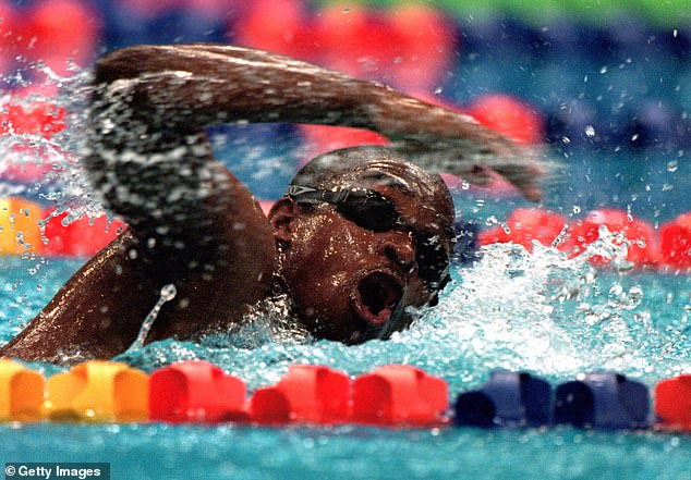 He clocked the slowest men's 100m freestyle ever in the Olympics with a final time of 1:52.72