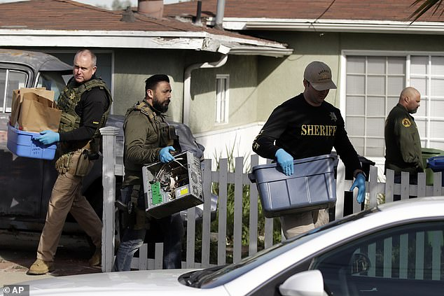 In February 2020, police executed a search warrant at Paul's San Pedro, California, home, confiscating electronic devices containing homemade videos and rape porn, prosecutors say