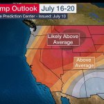 Western U.S. expected to be hit with yet another heat wave with high temperatures of 106 degrees 💥👩💥