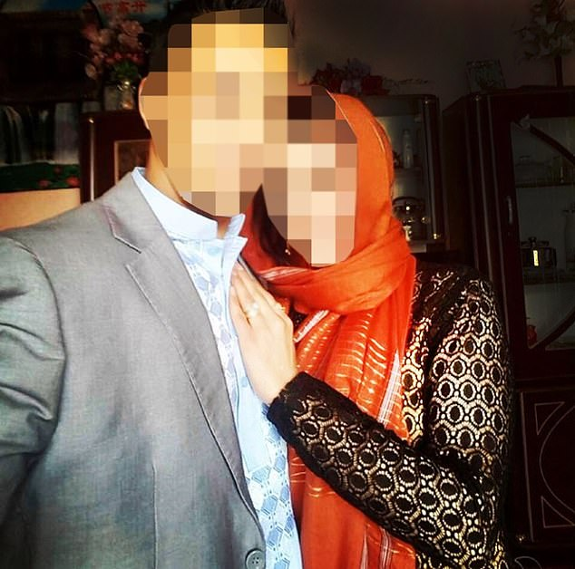 Mohammadi (right) is one of a dozen wives of ex-Afghan interpreters to have begun legal action against the British Government to allow them to join their husbands