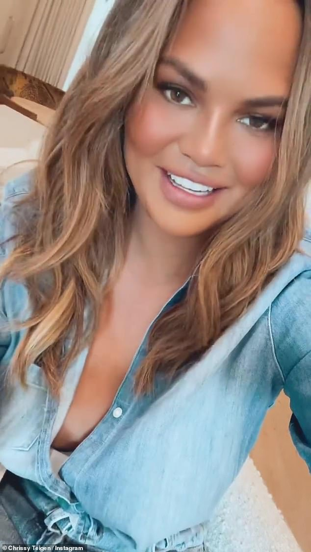 Down in the dumps: Courtney recently responding to their former bully Chrissy Teigen writing on Instagram that she felt 'lost' and 'depressed' after becoming part of the 'cancel club'