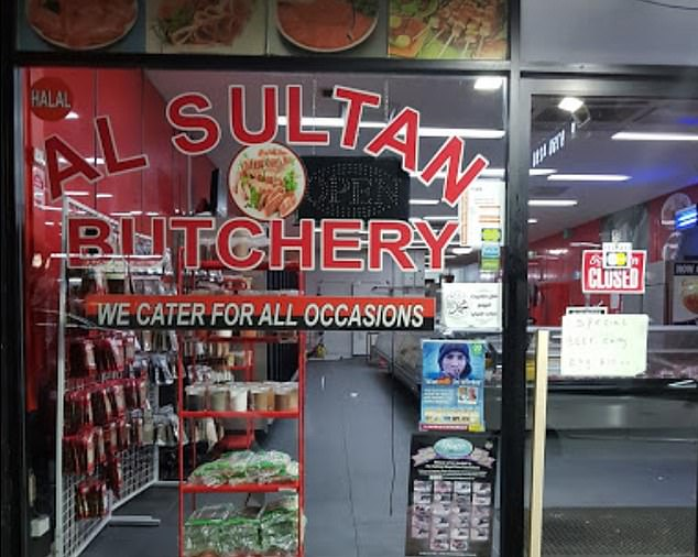 A butcher in Lakemba (pictured) has been listed by NSW Health as an exposure site after a staff member worked for nearly a week while contagious
